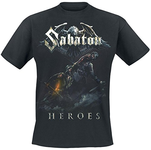 Sabaton Heroes - Soldier T-Shirt nero L