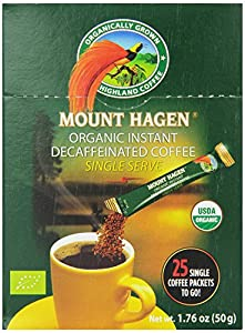 Mount Hagen Organic Instant Decaffeinated Coffee