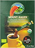 Mount Hagen Organic Instant Decaffeinated Coffee, 25-Count Single Serve Sticks