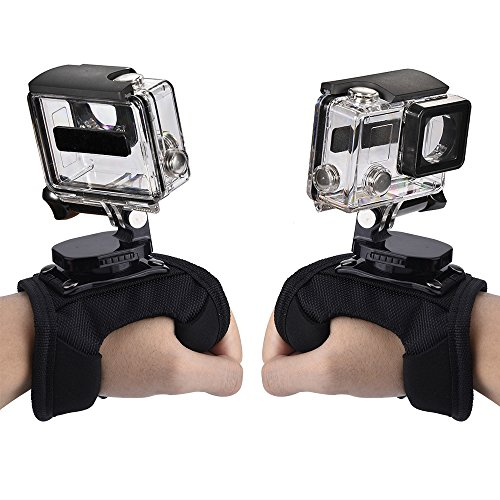 Mudder-360-Degree-Swivel-Rotation-Glove-style-Inseparable-Camera-Wrist-Hand-Strap-Mount-for-GoPro-GoPro-HD-GoPro-Hero-4-3-3-2-Sj4000