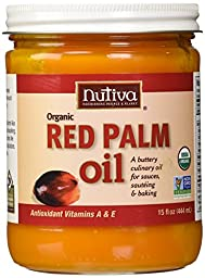 Nutiva Organic Fair Trade Certified Red Palm Oil, 15 Ounce (pack Of 1)