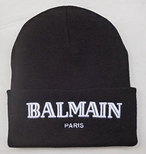 Balmain Beanie/Sports ha ha ha/on/Team/Knit Hat/Warm ha/Head Cap/Wool Cap for Mr/MS