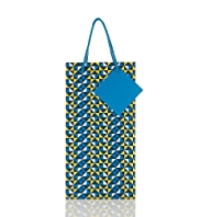 Geometric Print Small Gift Bag