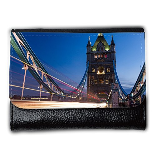Cartera para hombre // M00421685 Tower Bridge London Bridge Noto // Medium Size Wallet