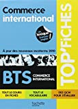 TOP'Fiches - Commerce international, BTS Commerce international