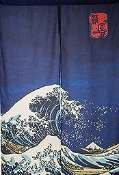 Japanese Noren Doorway Curtain / Tapestry 33.5\