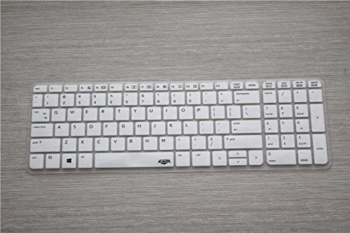 Leze Ultra Thin Transparent Keyboard Protector Cover Skin for HP ProBook 450 G1/G2, ProBook 650 G2 Laptop - Semi White (Hp Probook 450 Laptop Cover compare prices)