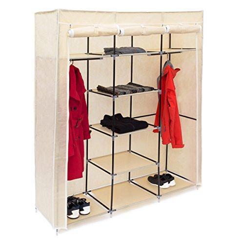 ean 4052025047191 10019122 127 relaxdays faltschrank valentin xxl h x b x t 173 x 148 x 42 5 cm. Black Bedroom Furniture Sets. Home Design Ideas