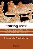Talking Back: The Idea of Civilization i...