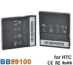 Original Fing (TM) Full Backup / Full Cell Battery 1400mAh BB99100 For HTC Google G5 , Nexus One , Dragon , Desire , Bravo