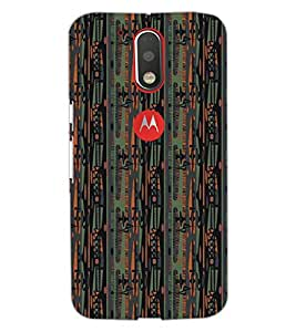 PrintDhaba Pattern D-5107 Back Case Cover for MOTOROLA MOTO G4 PLUS (Multi-Coloured)