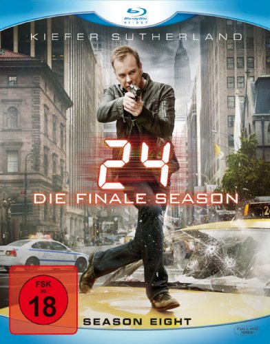 24 - Season 8/Box-Set - Ungeschnittene Originalfassung [Blu-ray]