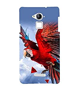 printtech Nature Bird Parrot Back Case Cover for Coolpad Note 3 Lite Dual SIM with dual-SIM card slots
