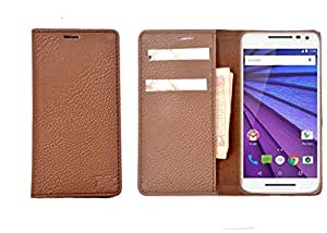 R&A Pu Leather Wallet Case Cover For BlackBerry Z10
