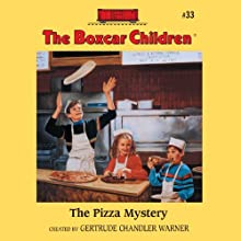 The Pizza Mystery: The Boxcar Children #33 (       UNABRIDGED) by Gertrude Chandler Warner Narrated by Aimee Lilly