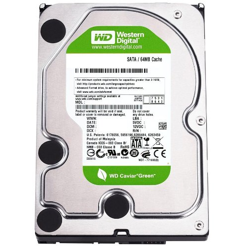 WESTERN DIGITAL WD AV-GP 3.5インチ内蔵HDD 4TB SATA6.0Gb/s IntelliPower 64MB WD40EURX