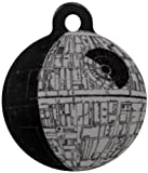 Platinum Pets Star Wars 1.25-Inch Smartphone Pet ID Tag with GPS, Death Star Design