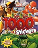 Marvel Super Heroes: Colouring and Activity Book With 1000 Stickers!