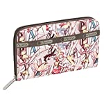 LeSportsac Lily Zip Around Continental Wallet, Tink Marc Davis Large