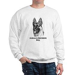 CafePress German Shepherd Dog Sweatshirt from CafePress
