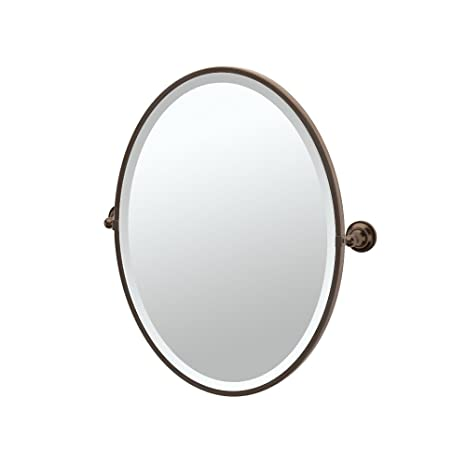 Gatco 4349F Tiara Framed Oval Mirror