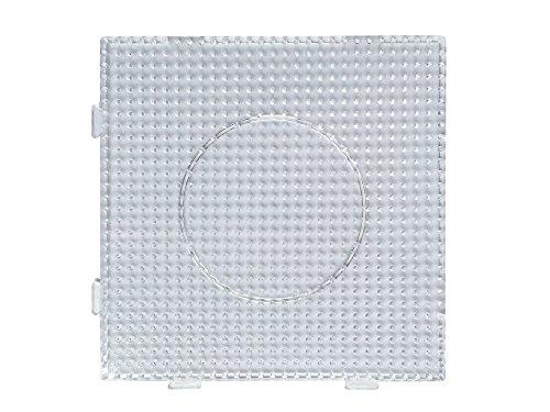 4 Stück, Bügelperlen Stiftplatten, Steckplatten, einzeln und auch als eine Fläche nutzbar, Einzelgröße 14,5 x 14,5 cm von EAST-WEST Trading GmbH
