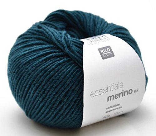Lana Merino Rico Merino DK FB. 31petrol, lana per maglia e uncinetto
