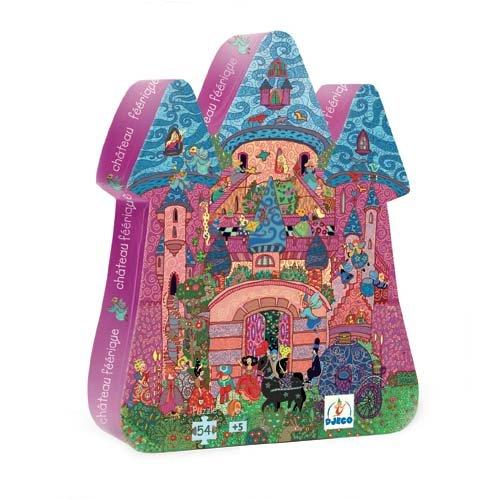 Cheap Djeco Fairy Castle Silhouette Puzzle by Djeco (B001HGFRVI)