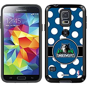 Coveroo CandyShell Case for Samsung Galaxy S5 - Retail Packaging - Minnesota Timberwolves Polka Dots