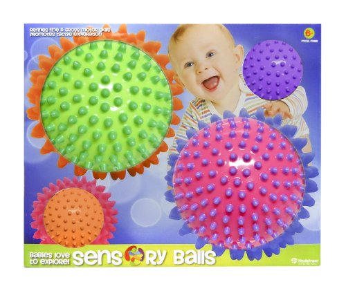Hedstrom Sensory Knobby Balls, Multi Pack