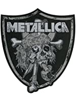 Patch Metallica : Raiders Skull Sous Licence Officielle