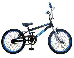 Reflex Phantom 360 Freestyler BMX Bike - Black/White, 20-Inch