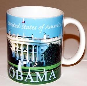 United States of America President Barack Obama Souvenir Coffee / Tea / Hot Chocolate Collectible Mug