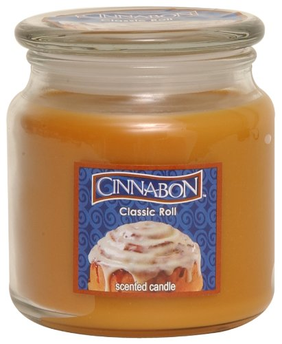 Cinnabon by Hanna's Candle 14.5-Ounce Cinnabon Classic Jar Candle