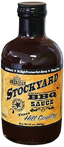 American Stockyard Texas Hill Country BBQ Sauce, 14 Ounce (Bbq Sauce Texas compare prices)