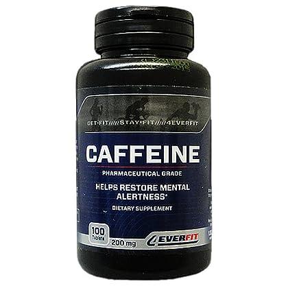 カフェイン(200mg) 100錠 海外直送品