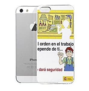 Amazon.com: Makis Bens Case for iPhone 5/5S Depenbe Ms Carteles 1