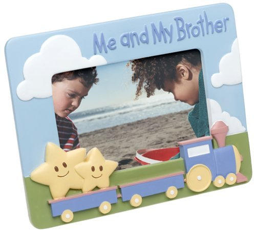 Me and My Brother Ceramic 4x6 Picture Frame - 1
