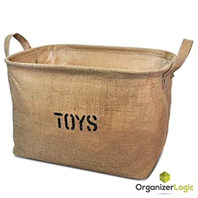 Jute Organizing Basket, eco-friendly for Toy Storage in Large by OrganizerLogic that we recomend individually.