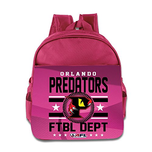 Orlando Predators AFL Team Logo Kids School Backpack Bag