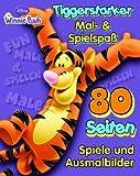 Acquista Tiggerstarker Mal- & Spielspaß: 80 Seiten Spiele & Ausmalbilder