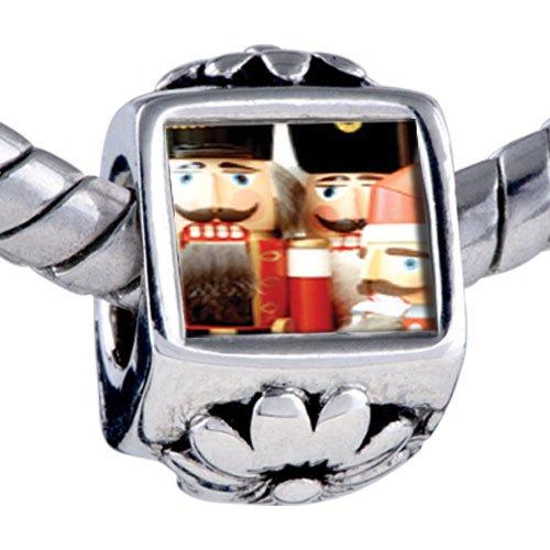 Pugster Bead Christmas Nutcrackers Beads Fits Pandora Bracelet