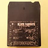 BLACK SABBATH Master Of Reality 8 Track Tape WB 1971