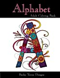 Alphabet: Adult Coloring Book