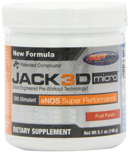 USP Labs Usp Labs Jack 3D Micro, Fruit Punch, 5.1 Ounce