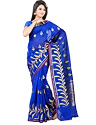 Mimosa Fancy Art Silk Saree Royal Blue Colour(3128-AP-319-RBLUE)