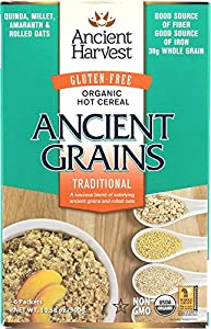 Ancient Harvest Organic Gluten Free Ancient Grain Hot Cereal, Traditional, 10.58 Ounce