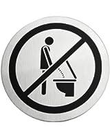 Blomus 68146 Plaque d'indication pour WC Signo