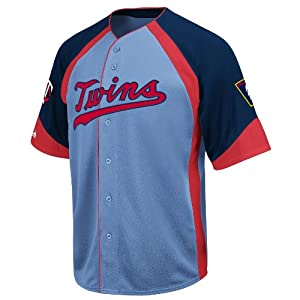 MLB Minnesota Twins Cooperstown Wheelhouse Jersey by Majestic