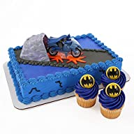 Batman Cake Topper and 24 Cupcake Top…